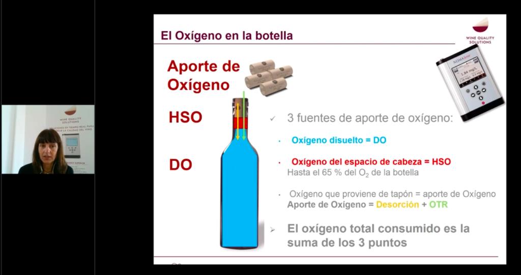Webinar impartido por Marta Arranz sobre control oxígeno