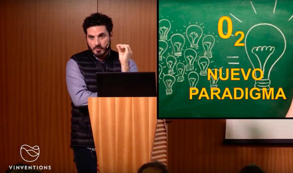 Roberto Vicente ponencia sobre oxígeno vinventions
