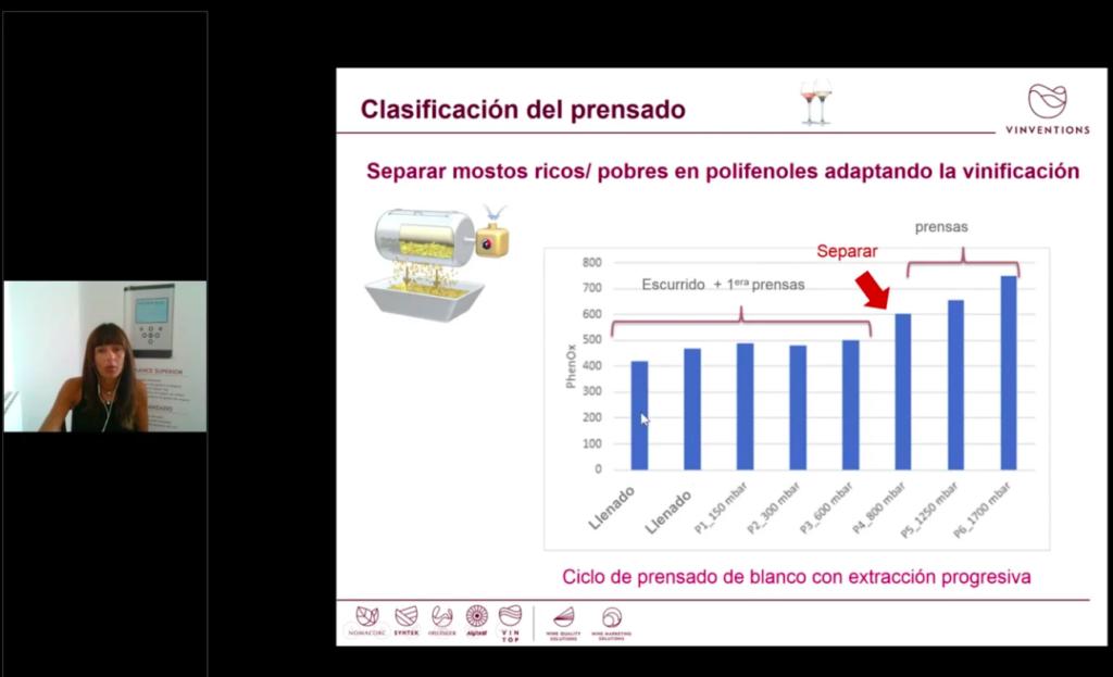 Webinar de Marta Arranz sobre cómo medir los polifenoles en bodega
