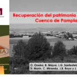 Ponencia sobre recuperación del patrimonio vitícola cuenca de Pamplona en SECH 2018
