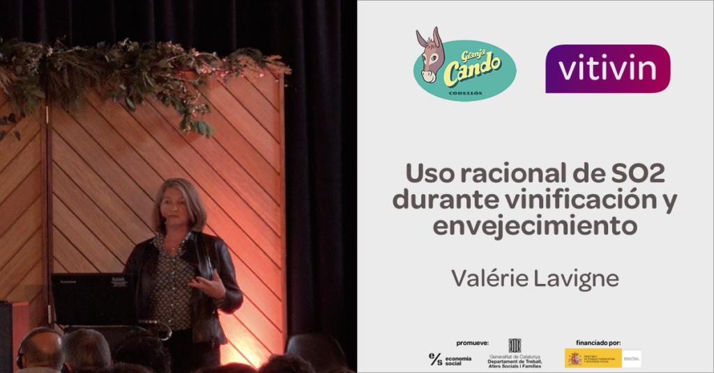 Ponencia de Valérie Lavigne Congreso Viticultura Granja Cando 2019